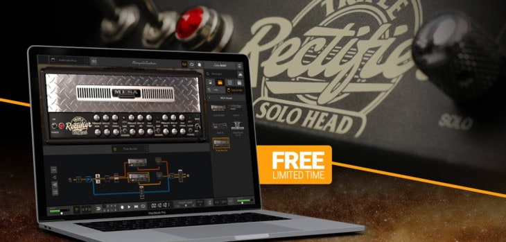 AmpliTube MESA/Boogie Triple Rectifier Head Is FREE (Limited-Time)