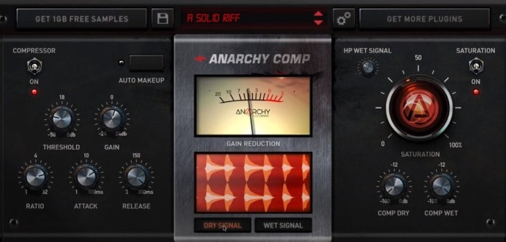 Anrchy Comp VST/AU Plugin Is FREE For A Limited Time