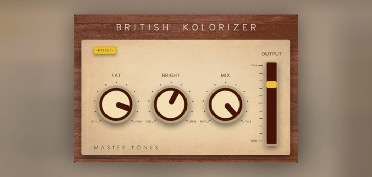 British Kolorizer By Master Tones