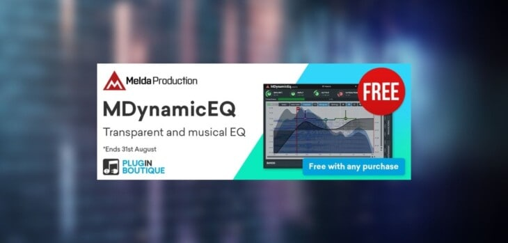 MDynamicEQ Is FREE With Any Purchase @ Plugin Boutique