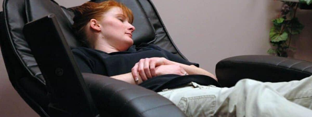 a recliner after shoulder surgery