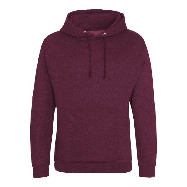 bordeaux rook kleur hoodie - bedruk mijn hoody