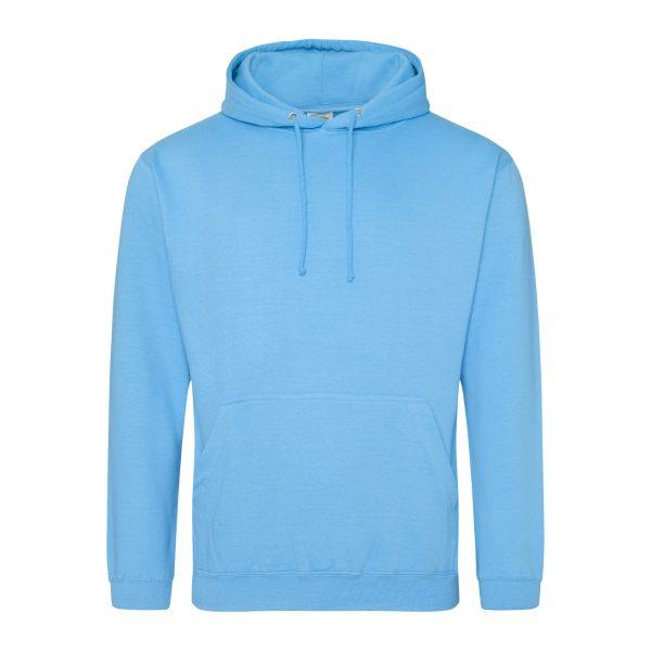 haiwai blauw kleur hoodie - bedruk mijn hoody