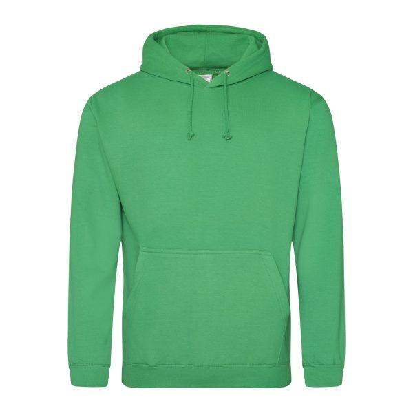 kelly groen kleur hoodie - bedruk mijn hoody