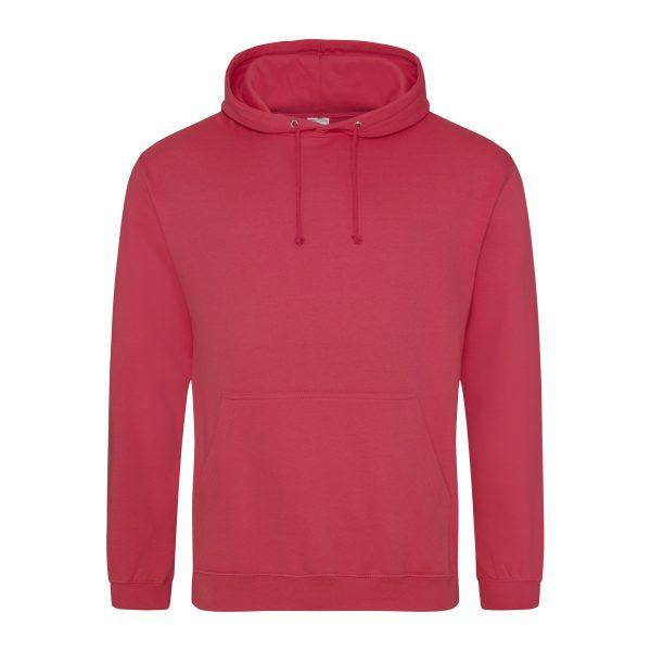 lipstcik pink kleur hoodie - bedruk mijn hoody