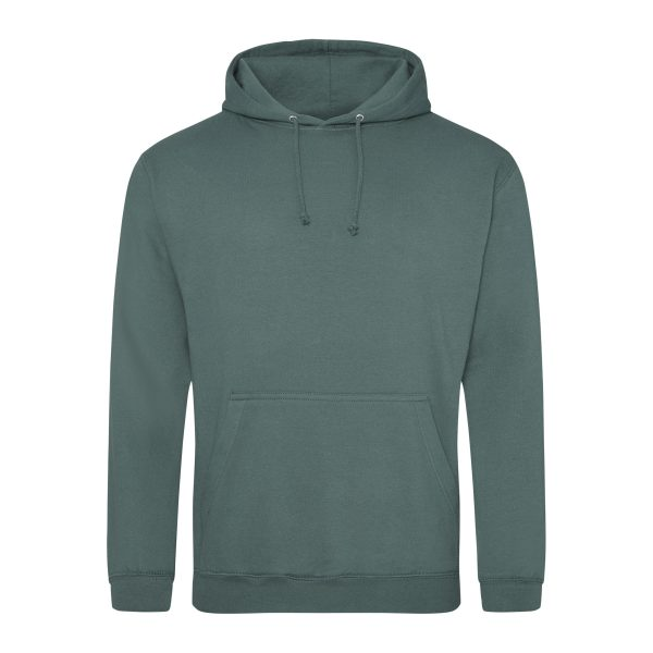 mosgroen kleur hoodie - bedruk mijn hoody