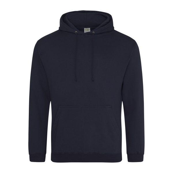 Nieuw frans marine kleur hoodie - bedruk mijn hoody