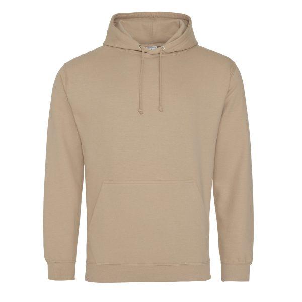 Nude / huid kleur Hoodie - bedruk mijn hoody