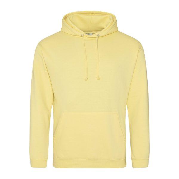 milkshake citroen geel kleur hoodie - bedruk mijn hoody