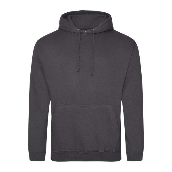 Strom Grijs kleur hoodie - bedruk mijn hoodie
