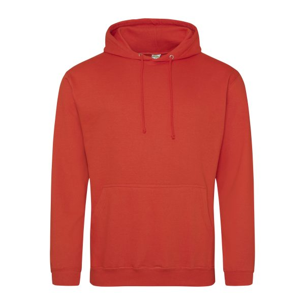 zon opgang rood kleur hoodie - bedruk mijn hoodie