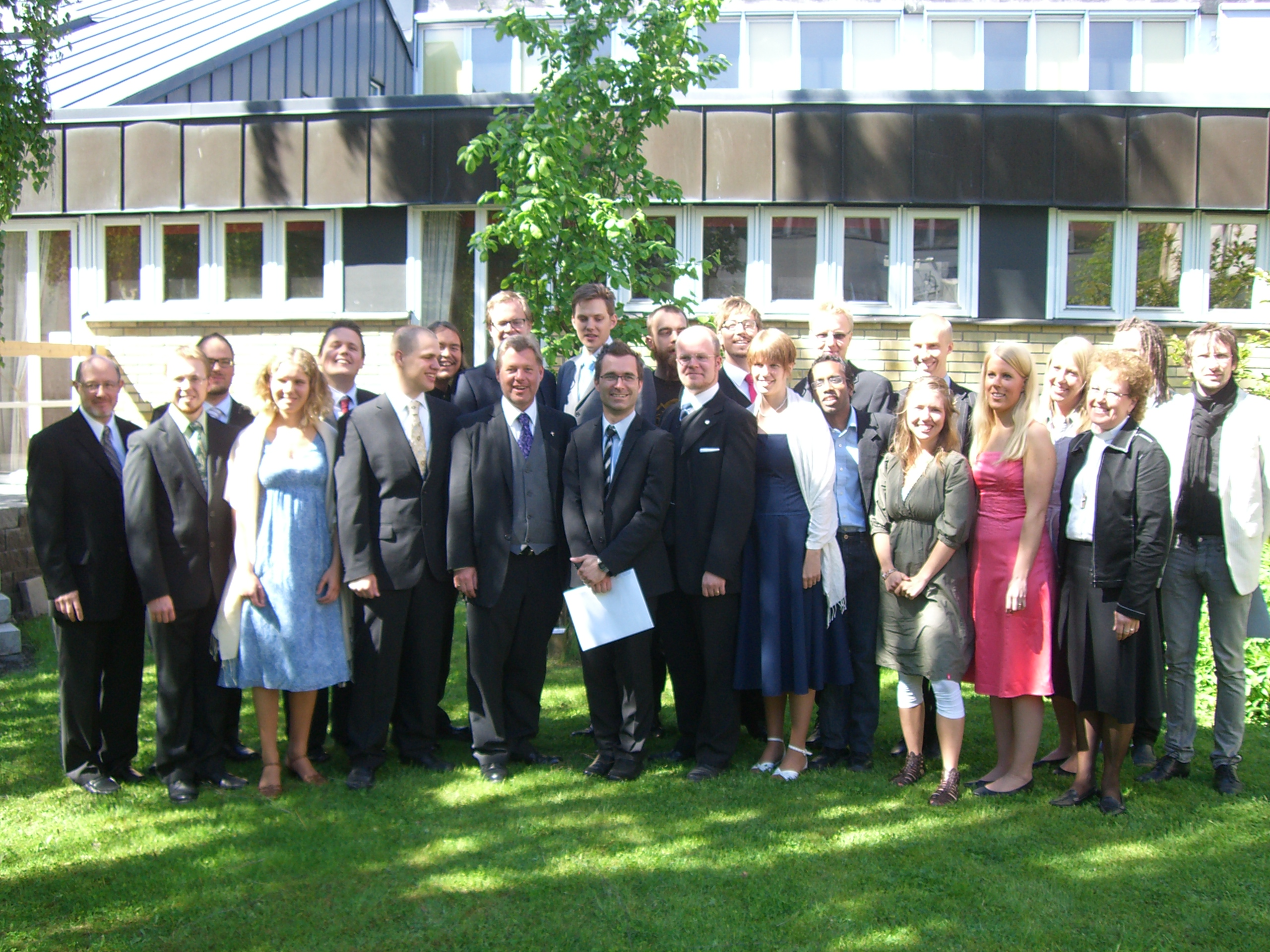 Avslutning Johannelund år 2009 för Mikael Bedrup 031