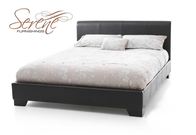 King Size Bed Frame Perth Wa. living swan black super kingsize leather ...