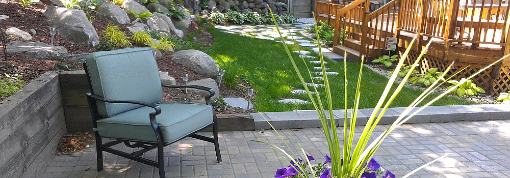 Landscaping Essential Elements: Rock, Wood, and Metal