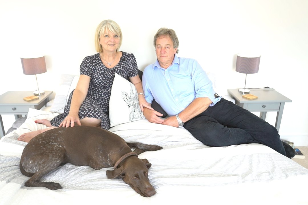 Kris and Martin, the founders of Bedstretch