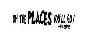 Oh The Places You'll Go - Dr. Seuss Wall Decal