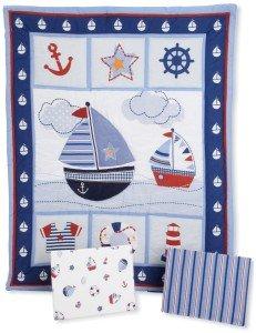Nautical Nursery Ideas - Bedtime Originals Sail Away