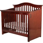 Dream On Me Wonder Crib II - Cherry