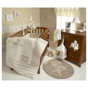 Neutral Crib Bedding - Once Upon A Time Bedding Set