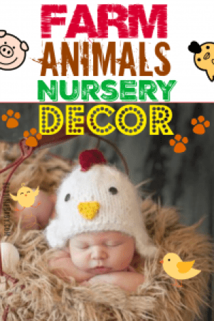 Farm Animal Nurser Decor