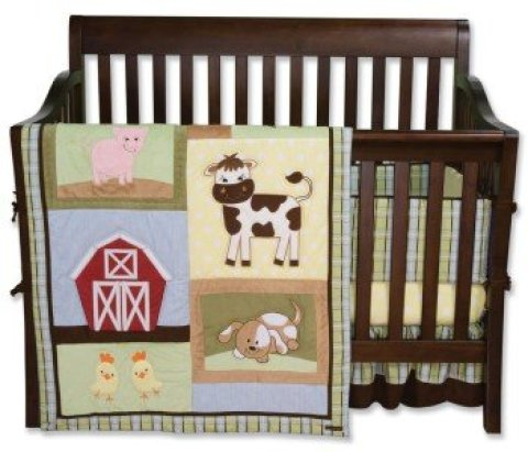 Farm Animal Nursery Barnyard Bedding