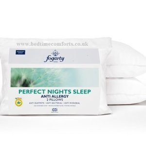 2 x Fogarty Anti Allergy Pillows