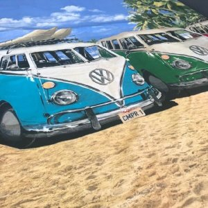 3' Single VW Volkswagen Camper Duvet Cover & 1 Pillowcase (available with duvet)