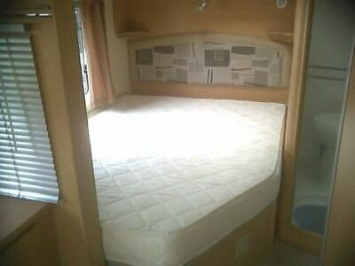 "RH Caravan/Motorhome ""QUILTED"" Corner Fitted Mattress Topper (Boxed Skirt)"