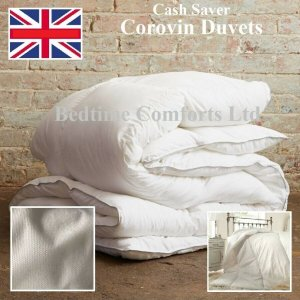 """CASH SAVER"" Corovin Duvet Quilt Hollow Fibre (All Sizes and Togs)"
