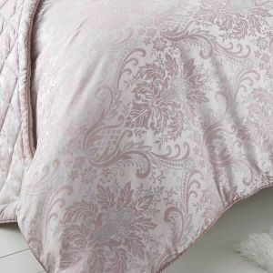 Beautiful Pink Floral Duvet Cover + 2 Pillow Cases KATRINA