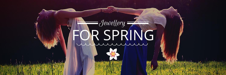 spring collection slider