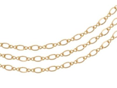 figure 8 gold chain