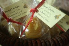 Baby Bee Hive Candles