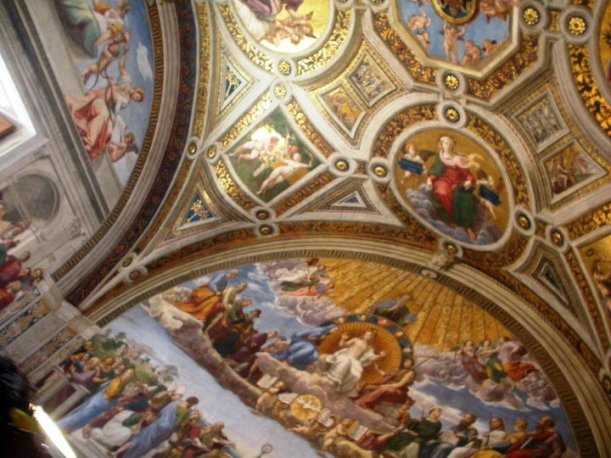 The beautiful Sistine Chapel, a must see during your one day in Rome