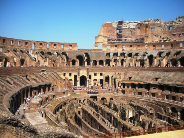The Colosseum is a must see in your one day in Rome