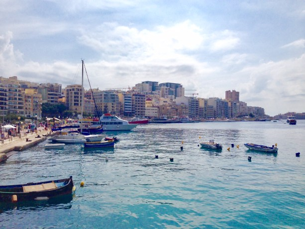 Sliema waterfront is a must see during your 5 days in Malta