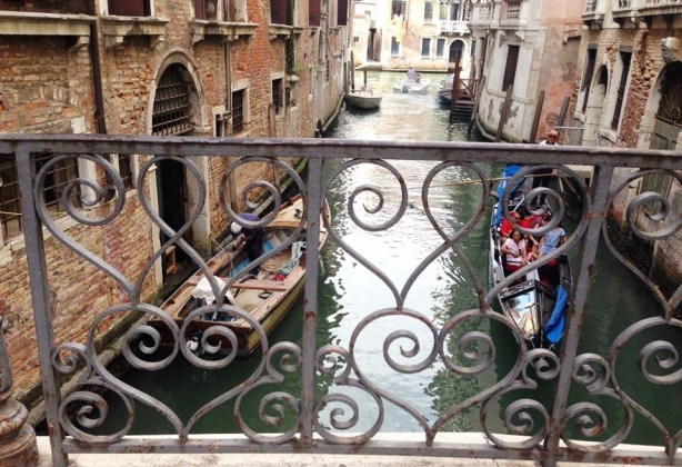 Lovely view overlooking the canal. Just another reason to get lost in Venice