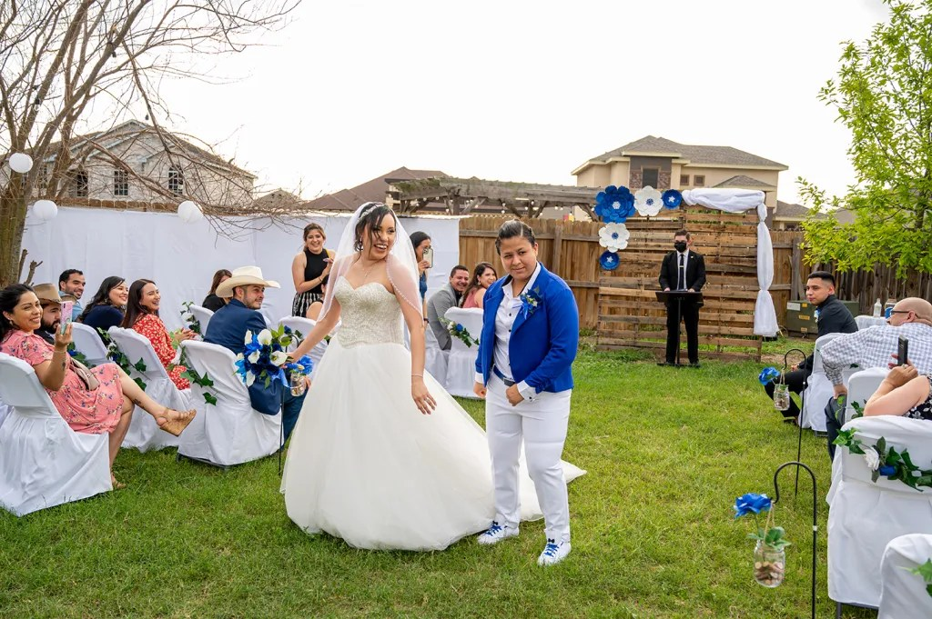 small gay wedding
