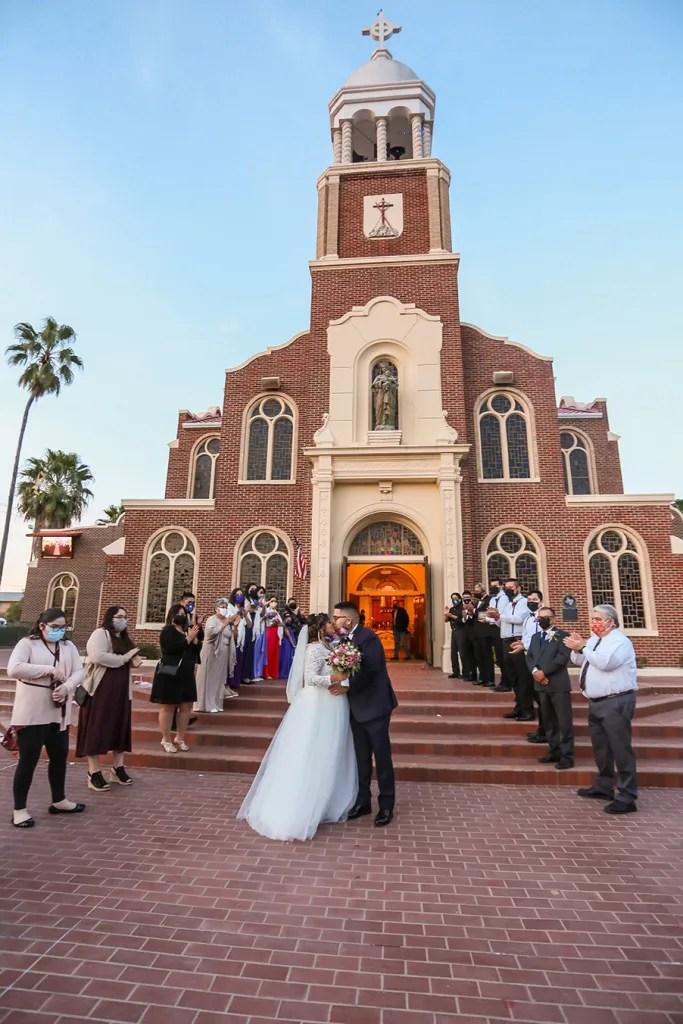 Our Lady of Guadalupe Catholic Church Wedding Ceremony