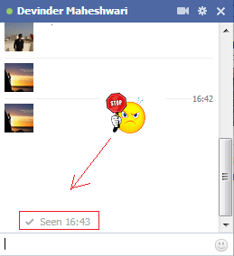 How To Turn off Facebook Chat Seen Feature