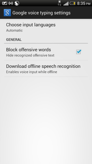Offline Text to Speech and Voice Recognition