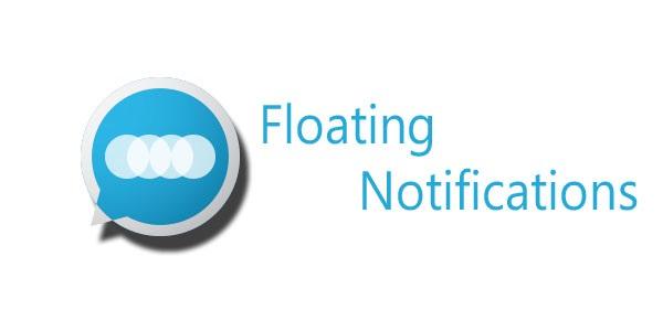 Floating Notifications, Facebook Chat Head Style Benachrichtigungen auf Android
