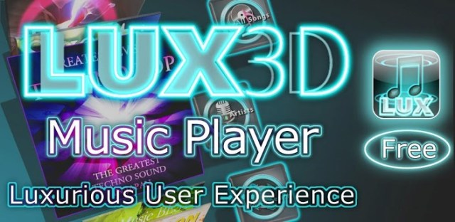LUX3D Music Player