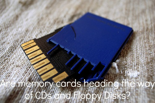 Memory cards are dying out.