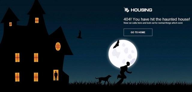 Hosuing.com 404 page