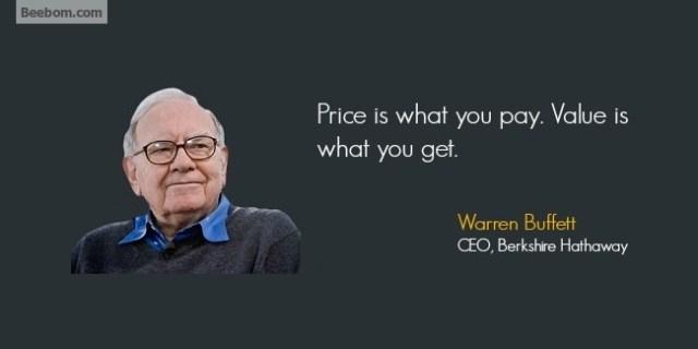 Warren Buffet quotes
