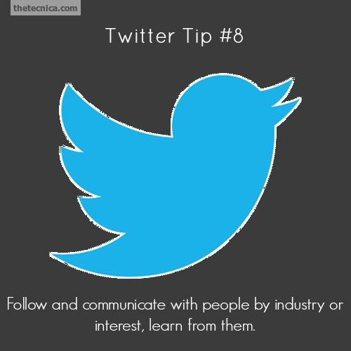 Twitter tip 8