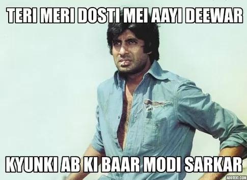 amitabh bachchan-  Abki Baar Modi Sarkar
