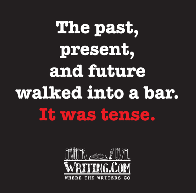 Now you know what is tense.