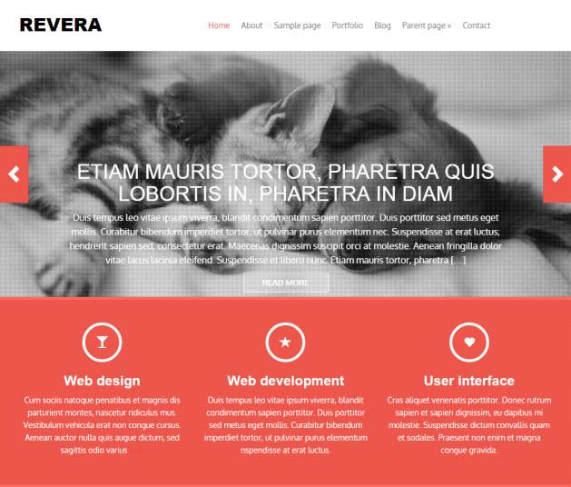 Revera Business Theme